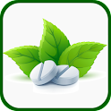 Medicinal herbs and plants icon