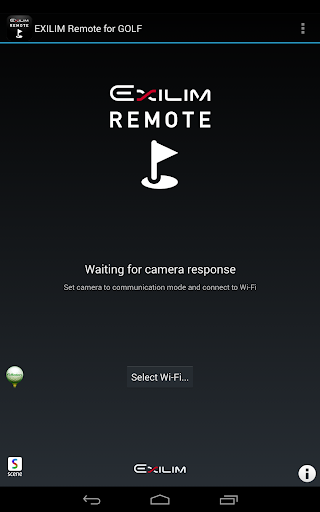 EXILIM Remote for GOLF 2.0.0 Windows u7528 1