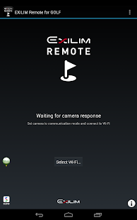 EXILIM Remote for GOLF- screenshot thumbnail