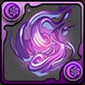 紫の妖火玉