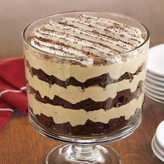 Tiramisu Brownie Trifle Recipe