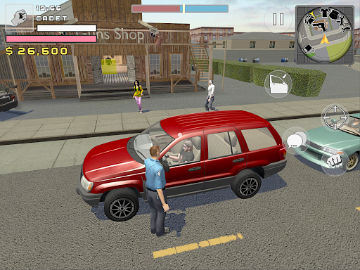 Police Cop Simulator. Gang War - screenshot