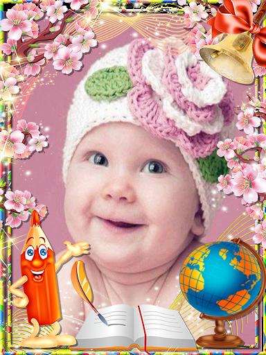 赤ちゃんのフレーム完璧