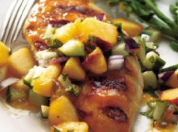 Peachee Grilled Chicken Recipe