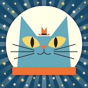 Solar System with Astro Cat  Icon