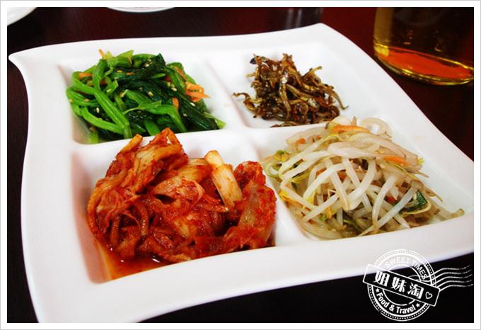 韓之味菜單泡菜