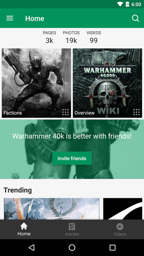 Fandom: Warhammer 40k- screenshot