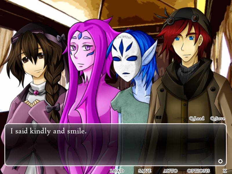Nila Dhuma - Kinetic novel- screenshot