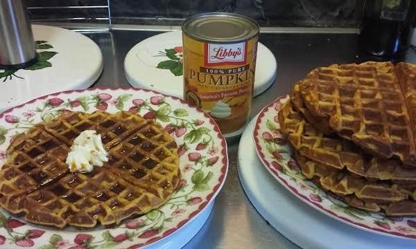 Pumpkin Waffles By Susan