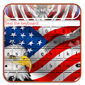 American Flag Keyboard Themes icon