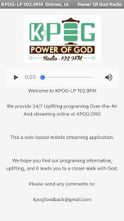 KPOG-FM Power of God Radio - náhled