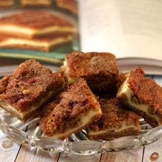 Snickerdoodle Cream Cheese Blondies Recipe