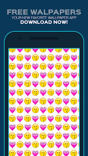 Emoji Wallpapers Android App Screenshot