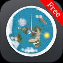Flat Earth Sun, Moon & Zodiac Clock icon