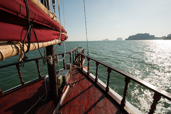 Sail over to the 4 Islands of Krabi
