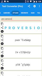 Text Converter Pro - náhled