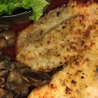 Healthier Broiled Tilapia Parmesan