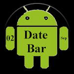 DateBar - date in status bar DateBar Android-10