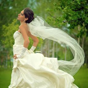bride by Foto Zrak - Wedding Bride ( wedding photography, krusevac, wedding day, weddings, wedding, foto zrak, wedding dress, nikon, bride )