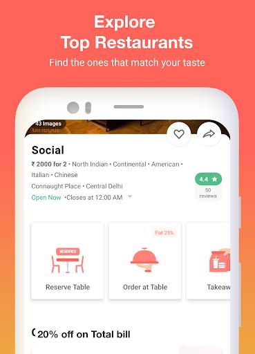 Dineout:Find Restaurants, Deals & Assured Cashback Apk 2