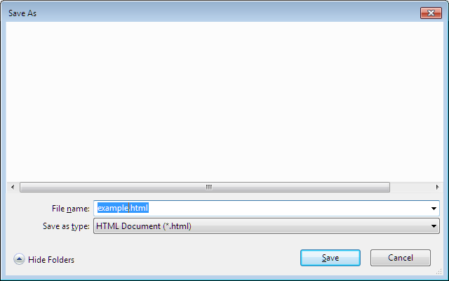 Download Serialized DOM