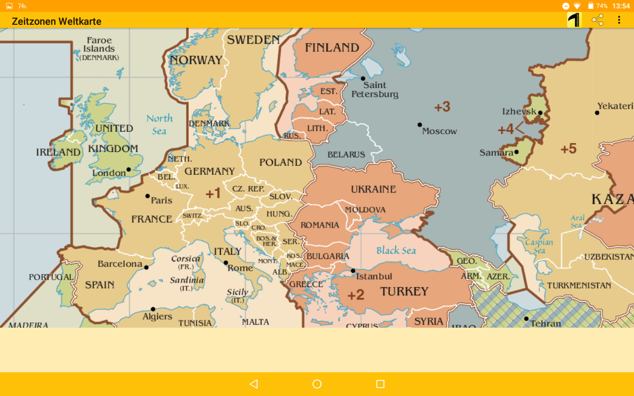 Time Zone Map Android Apps On Google Play - Germany map time zones