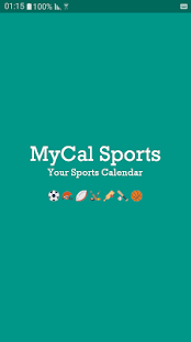 MyCal Sports- screenshot thumbnail