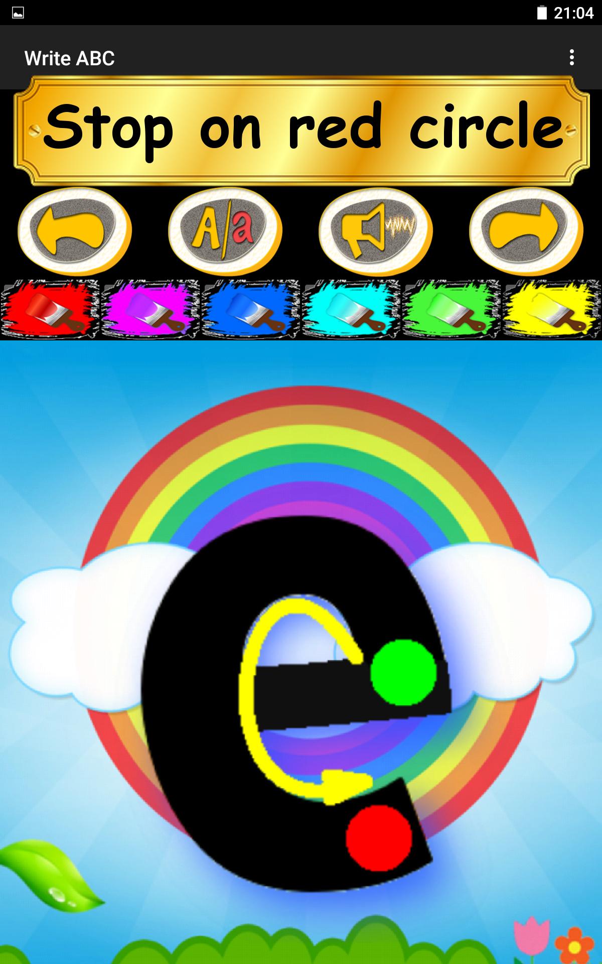 Write ABC - Learn Alphabets screenshot #22