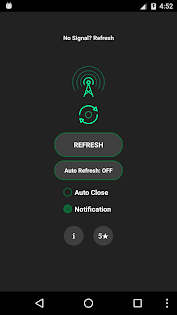 Network Signal Refresher Pro Apps para Android screenshot