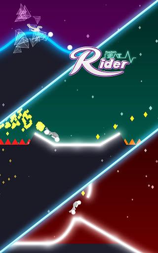 Radio Beat Rider : Neon Tricky Hurdle Track Ride 1.0.1 screenshots 11