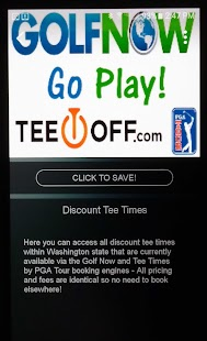 Golf in Washington- screenshot thumbnail