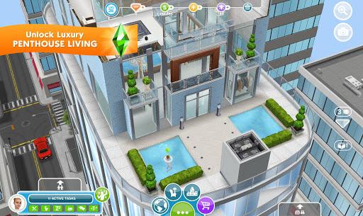 The Sims FreePlay apktreat screenshots 1