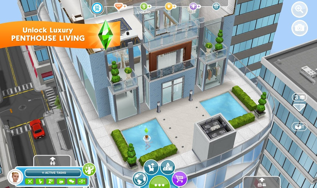 Sims FreePlay MOD APK 5.59.0 2