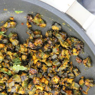 Okra Curry (Bhindi Ki Sabji)