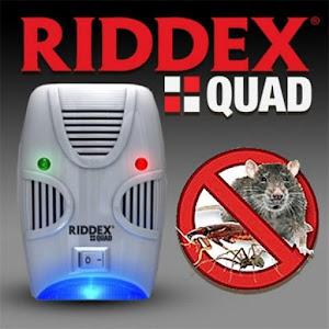 Set 2 x Aparat antidaunatori cu ultrasunete - Riddex Quad