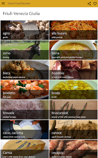 Italian Food Decoder screenshot 20