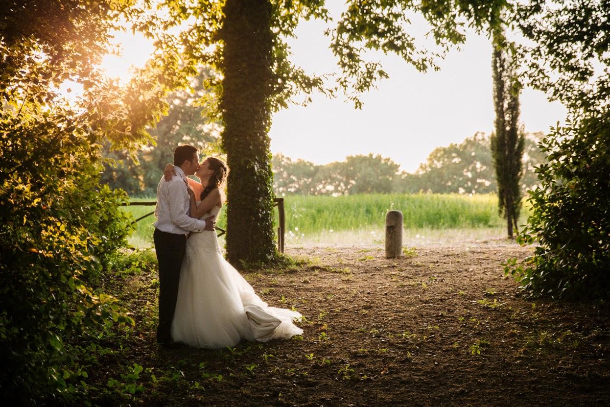Fotografo per matrimoni romantici