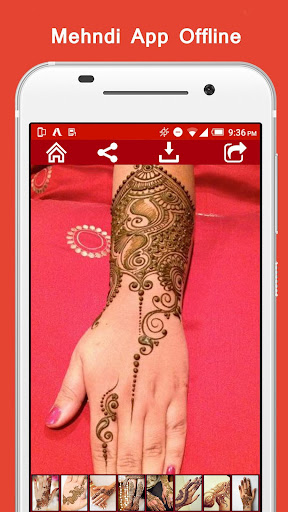 Mehndi App Offline  screenshots 2
