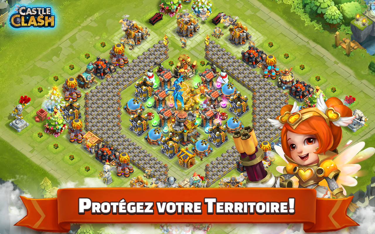 Screenshots of Castle Clash: L'Ultime Duel for iPhone