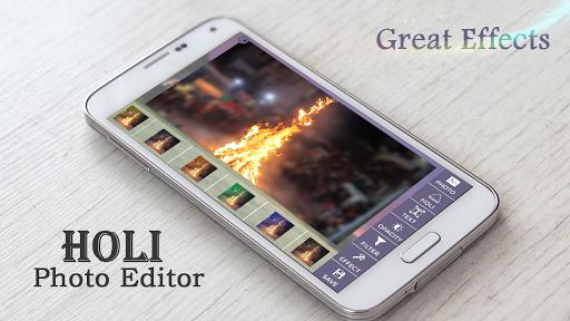 Holi Photo Editor 1.0 screenshots 1