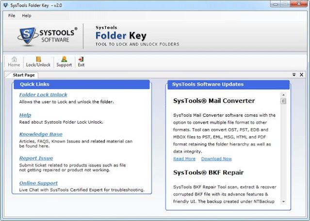 مفتاح مجلد SysTools