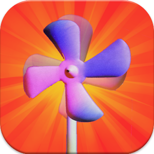 Toddler Pocket Touch Fan Spin