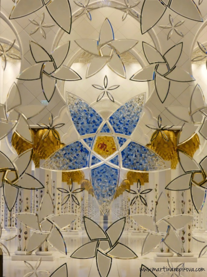 Sheikh Zayed Mosque window mosaique, Abu Dhabi, UAE