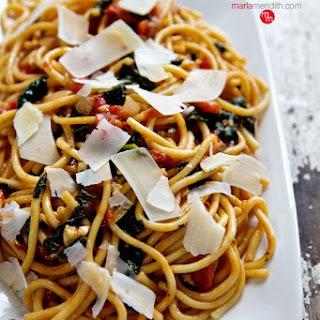 One-Pot Tomato & Spinach Pasta