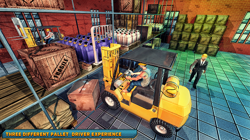 Forklift games : The forklift simulator