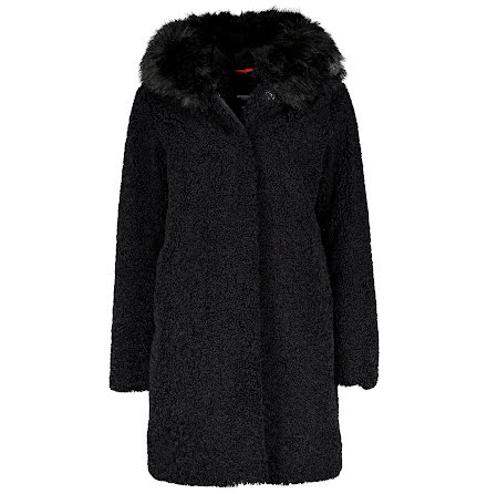 Joplin: Faux Fur, black