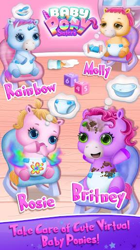 Baby Pony Sisters - Virtual Pet Care & Horse Nanny 5.0.14002 screenshots 1