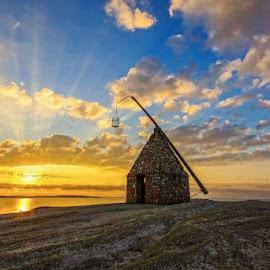Worlds end by Martin Olsen - Uncategorized All Uncategorized ( sky, sea, sunrise, sescape, norway )