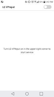 LG VPInput - náhled