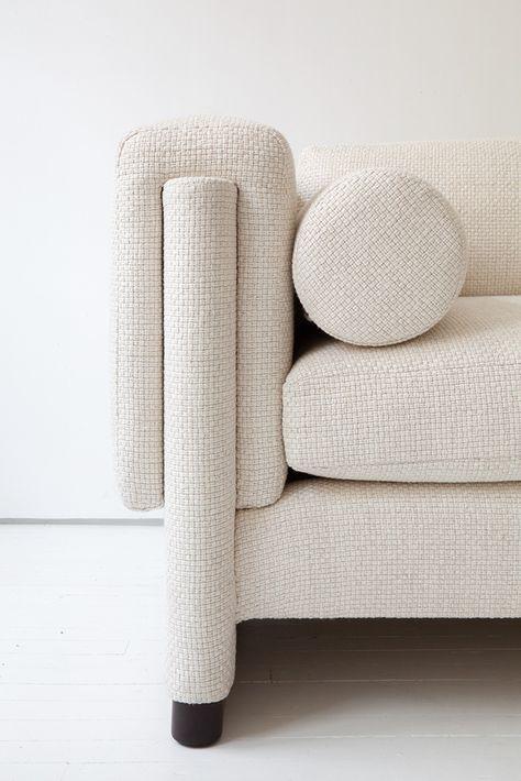 LeAnne Bunnell Calgary interior design fall trends texture white sofa elegant